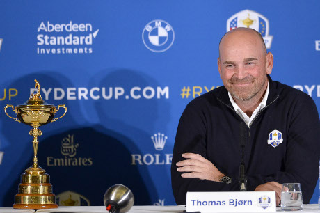 Thomas Bjorn (DEN) Copyright BMW