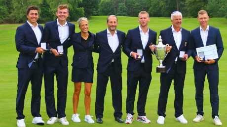 Die Herren des Golf Team Germany